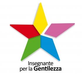 Il logo istituzionale degli Insegnanti per la Gentilezza - LA GENTILEZZA VINCE SEMPRE