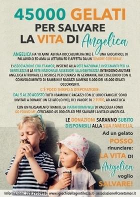 45000 Gelati per salvare la vita di Angelica - LA GENTILEZZA VINCE SEMPRE